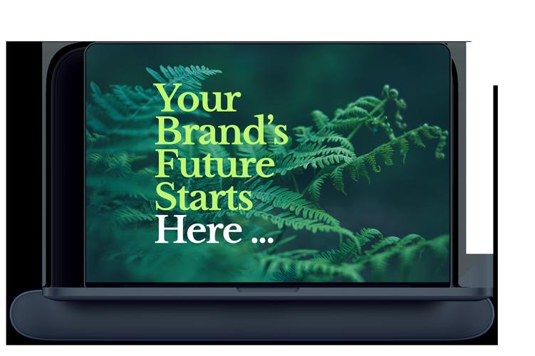 MacBook mockup for washington dc website design page