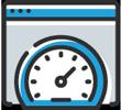 Website speed optimization icon - Washington DC'S Best Web Design Company page