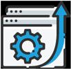 Custom Design - web design page icon